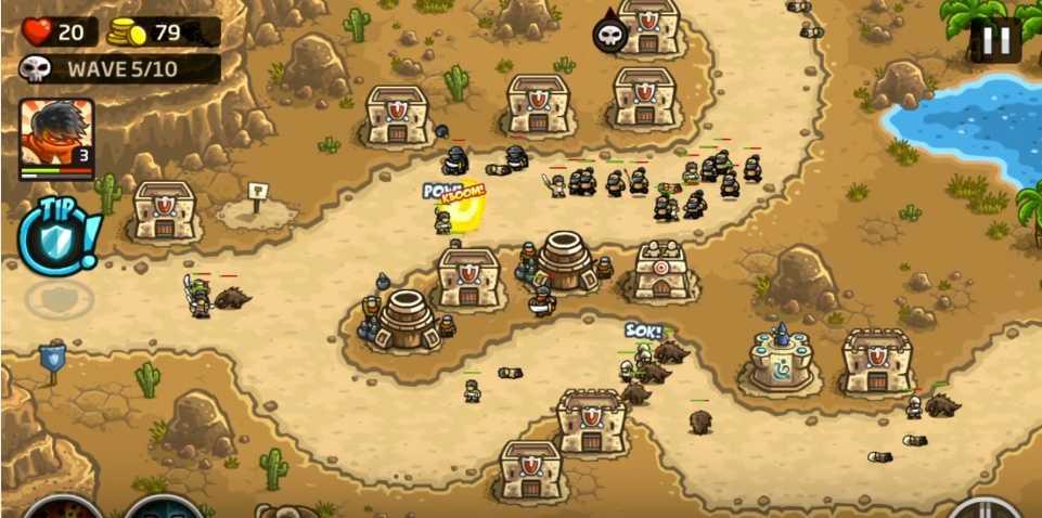 Простой взлом игры Kingdom Rush Frontiers с помощью Cheat ...