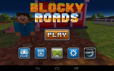 Blocky Roads полная версия [взломанная]