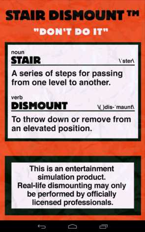 Stair Dismount полная версия