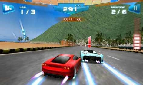 Взломанный Быстрые гонки 3D - Fast Racing на бесконечные деньги