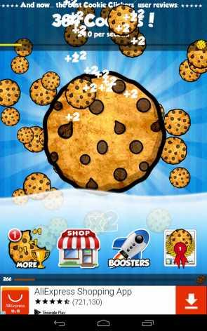 Cookie Clickers взломанный (читы)