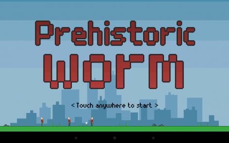 Взломанный Prehistoric worm на много денег