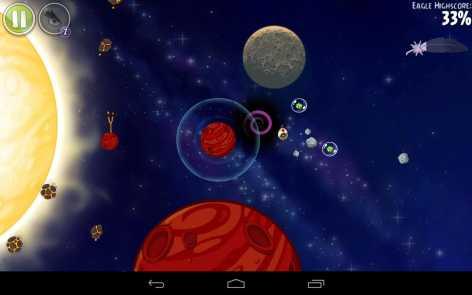 Angry Birds Space полная версия