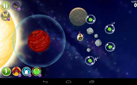 Angry Birds Space полная версия