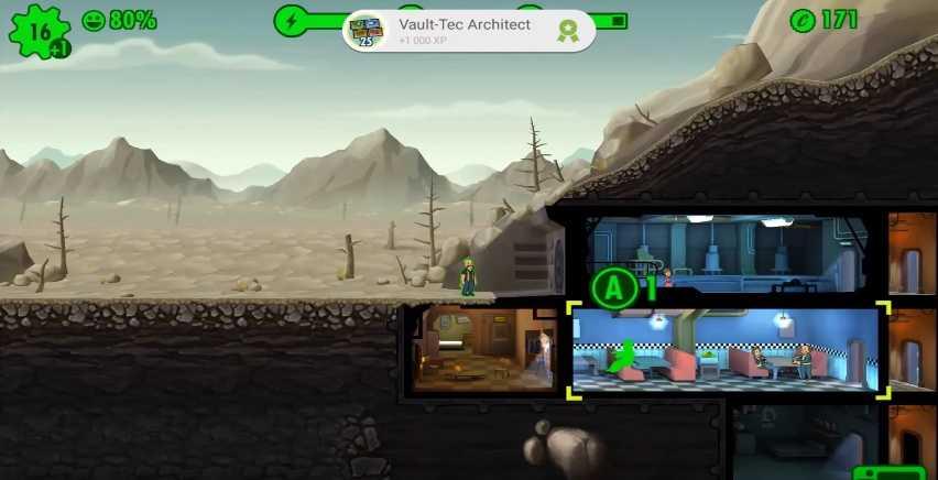 Fallout Shelter + мод (взлом) много денег 1.10 …