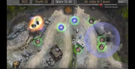 Взломанный Defense zone 2 HD (полная версия)