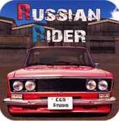 Russian Rider Drift взломанный (Мод много денег)
