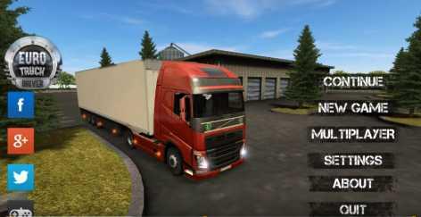 Euro Truck Driver взломанный