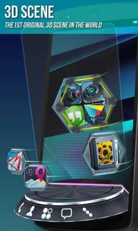 Взломанный Next Launcher 3D 2015 полная версия