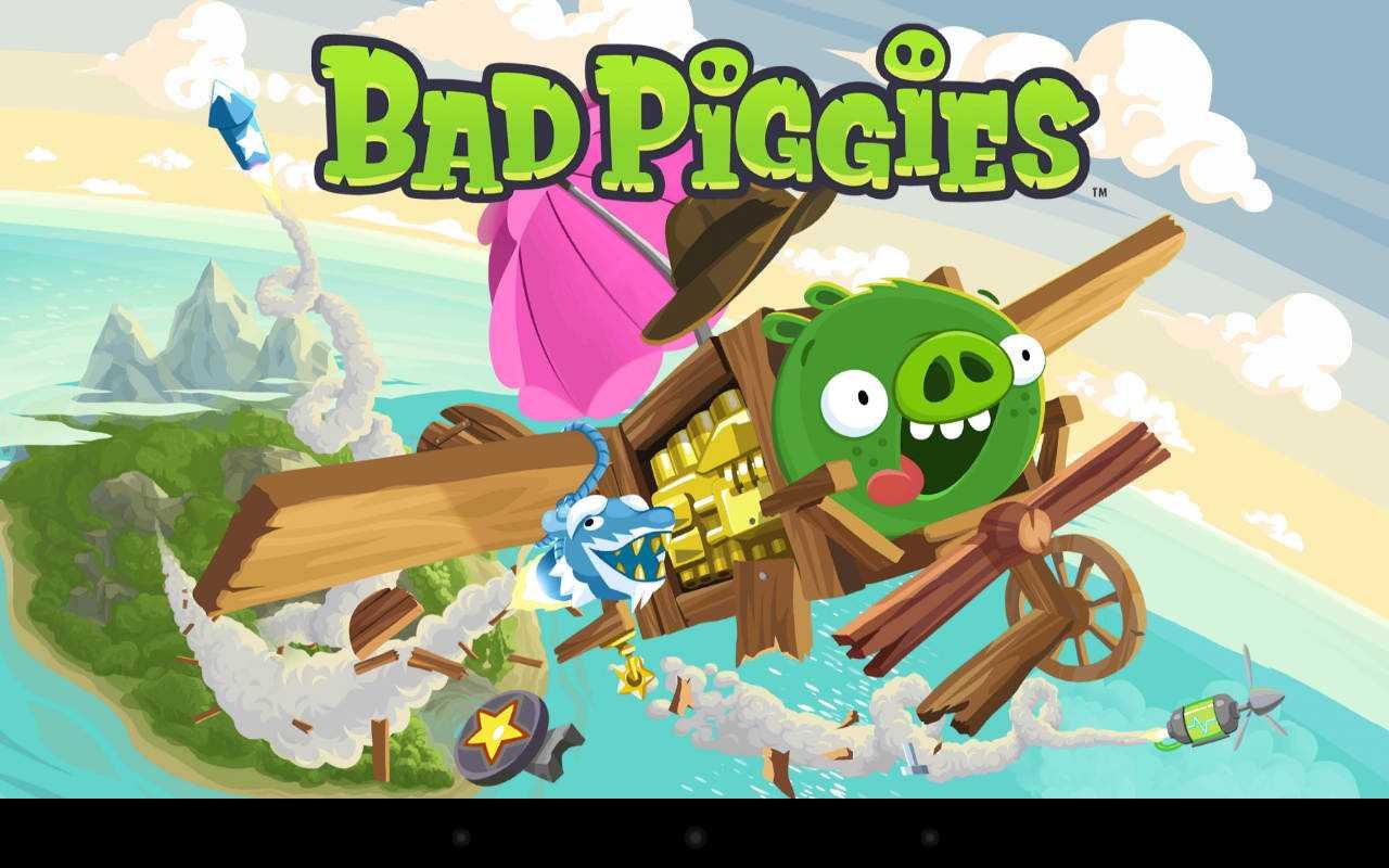 Скачать Bad Piggies на компьютер
