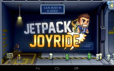 Jetpack Joyride взломанный (Мод бесконечные деньги)
