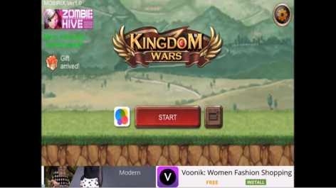 Взломанный Kingdom Wars