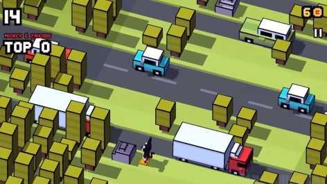 Взломанный Disney Crossy Road