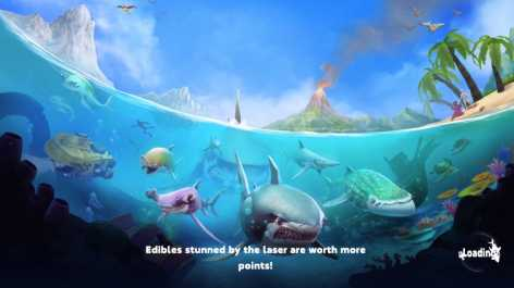 Взломанная Hungry Shark World