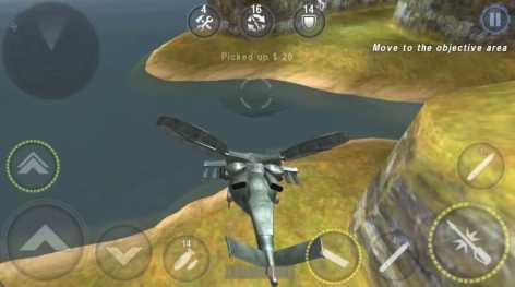 ВЕРТОЛЕТ БИТВА : 3D полет взломанная