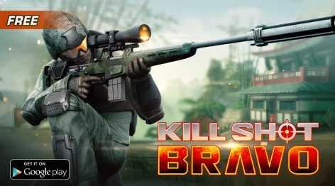 Взлом Kill Shot Bravo на много денег