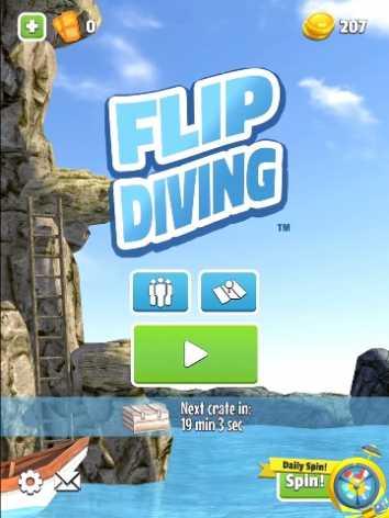 Взломанный Flip Diving на много денег