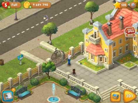 Взломанный Gardenscapes - New Acres (Чит много денег)