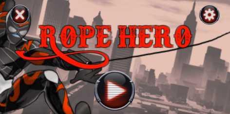 Rope Hero взломанный на много денег