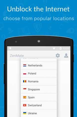 ZenMate полная версия
