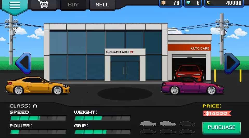 Скачать Игру Pixel Car Racing - фото 9