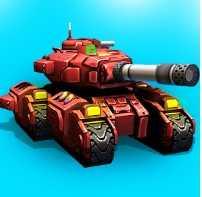 Взломанный Block Tank Wars 2 (Мод)