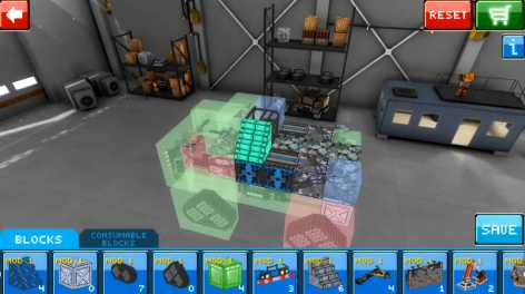 Blocky Cars Online взломанный