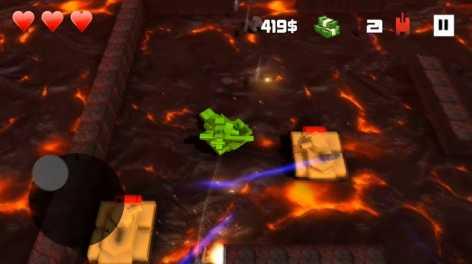 Взломанный Block Tank Wars