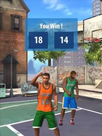 Взломанный Basketball Stars