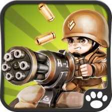 Маленький командир: WWII TD взломанный (Mod: много денег)