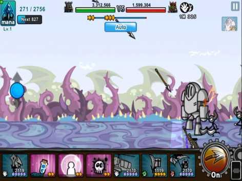 Взломанный Cartoon Wars 3 на много денег