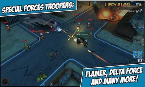 Взломанная Tiny Troopers 2: Special Ops