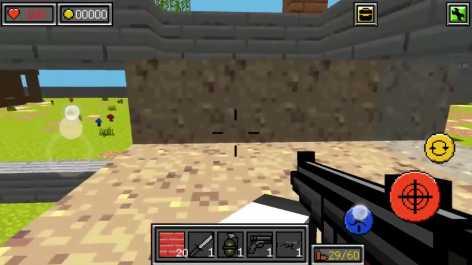 Pixel Combats: guns and blocks взломанный