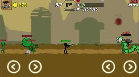 Мод Stickman and Gun (взломанный)
