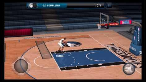 NBA LIVE Mobile много денег (взлом)