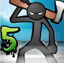 Взломанный Anger of Stick 5