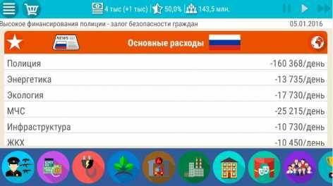 Симулятор России 2 взлом (много денег)