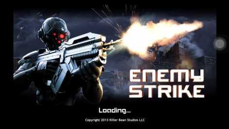 Enemy Strike взломанный на много денег