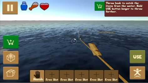 Raft Survival Simulator взломанный (чит)