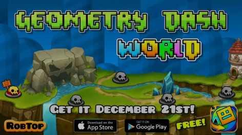 Geometry Dash World полная версия