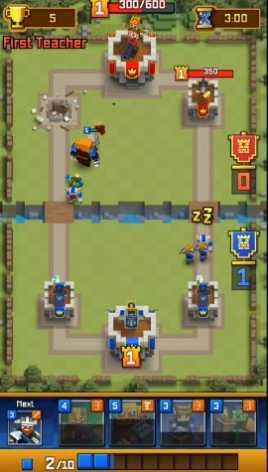 Взломанная Royale Clans – Clash of Wars