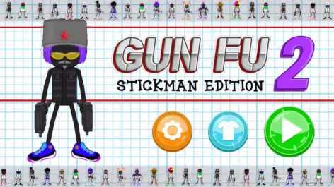 Gun Fu Stickman 2 взломанная