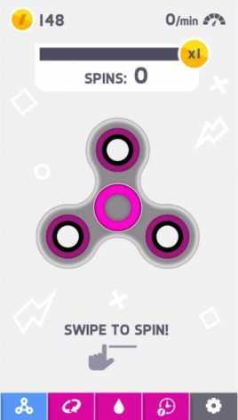 Fidget Spinner взлом (Mod: много денег/без рекламы)
