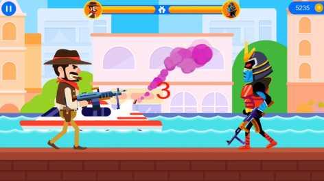 Gun Duel Master взломанный (Мод на деньги)