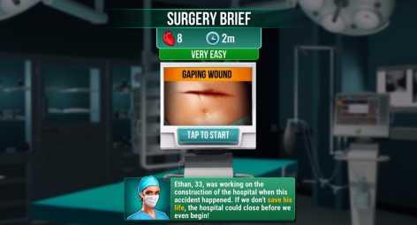 Operate Now: Hospital взломанная (Mod: много денег)