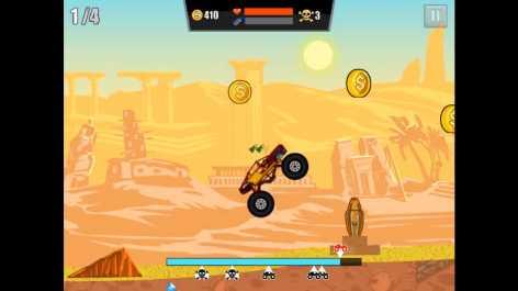 Взломанный Mad Truck Challenge - Racing (Мод много денег)