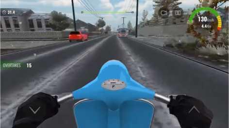 Взломанная Moto traffic race 2
