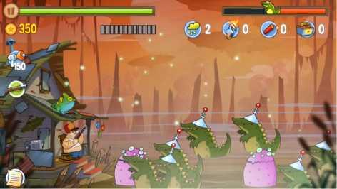 Взломанный Swamp Attack