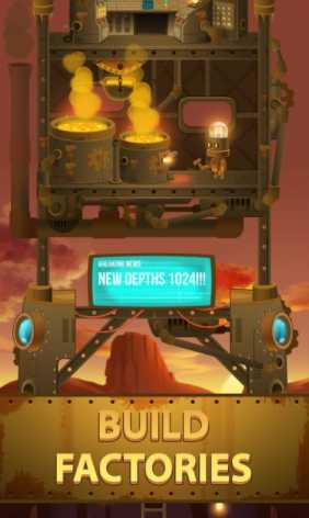 Deep Town: Mining Factory взломанная (Mod: много денег)