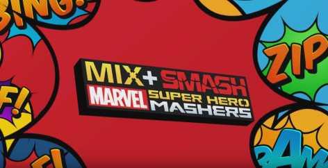 Смешай+Собери: Marvel Mashers взлом (Мод много денег)